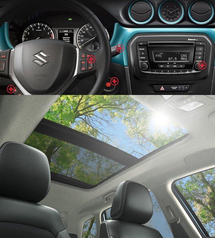 SUV đô thị cỡ nhỏ dưới 800 triệu, chọn Hyundai Kona 2019 hay Suzuki Vitara 2018? 12.
