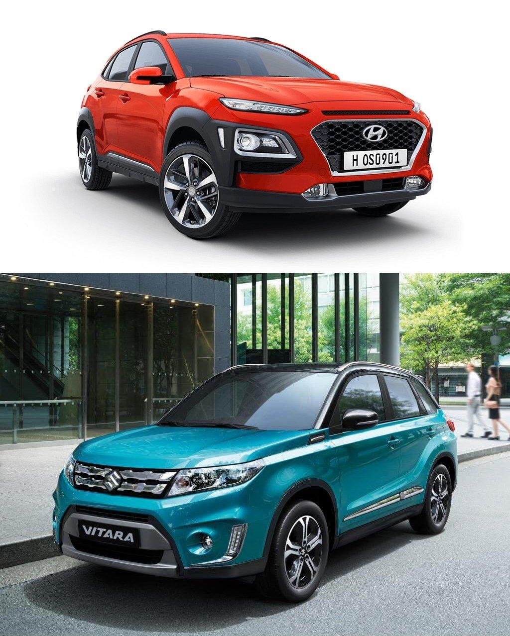 SUV đô thị cỡ nhỏ dưới 800 triệu, chọn Hyundai Kona 2019 hay Suzuki Vitara 2018? 4.