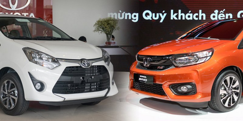 So sánh Honda Brio 2018 và Toyota Wigo 2018: Đại chiến tân binh hạng A.