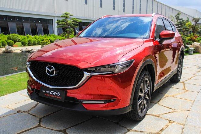 Thêm 3 màu ''''''''hot'''''''', Mazda CX-5 có bao nhiêu màu ngoại thất? - Ảnh 2.
