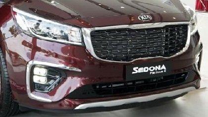 Đánh giá xe Kia Sedona bản Platinum G về đầu xe 2