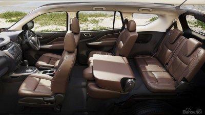 Nissan Terra 2019 phiên bản V có cấu hình 7 chỗ, chia thành ba hàng ghế 1