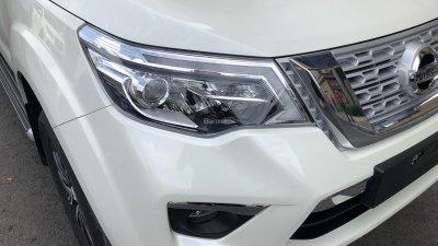 Đánh giá xe Nissan Terra 2019: Thiết kế đèn pha 1