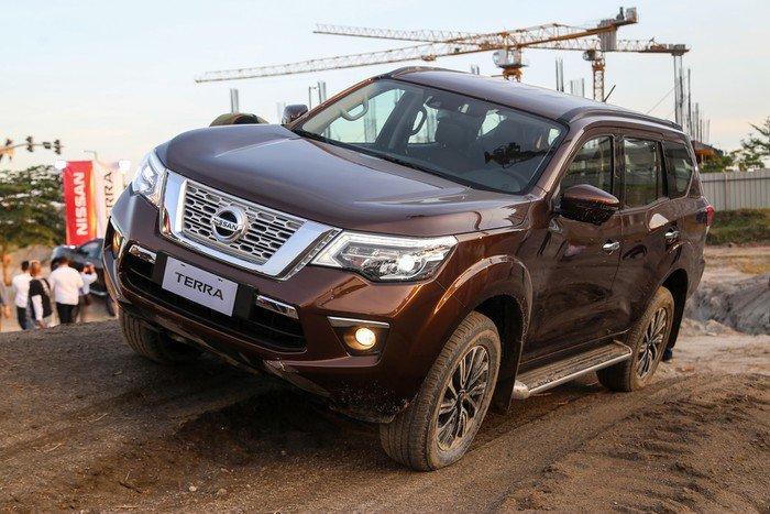 Nissan Terra 2019 vận hành ổn định trên địa hình nghiêng và không bằng phẳng a1