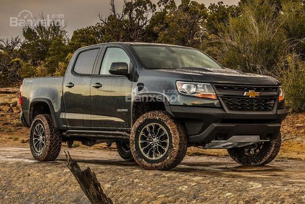 Chevrolet Colorado 2018.