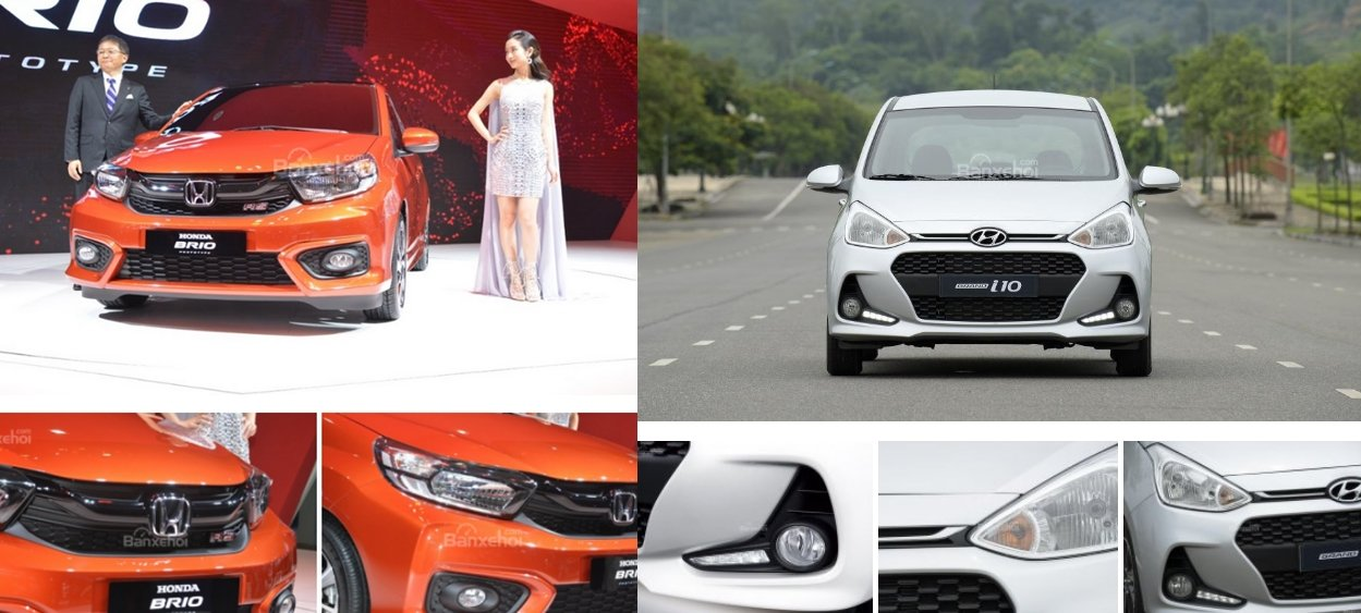 Xe cỡ nhỏ giá rẻ, tân binh Honda Brio có thể lật đổ ''''''''thống soái'''''''' Hyundai Grand i10? 3.