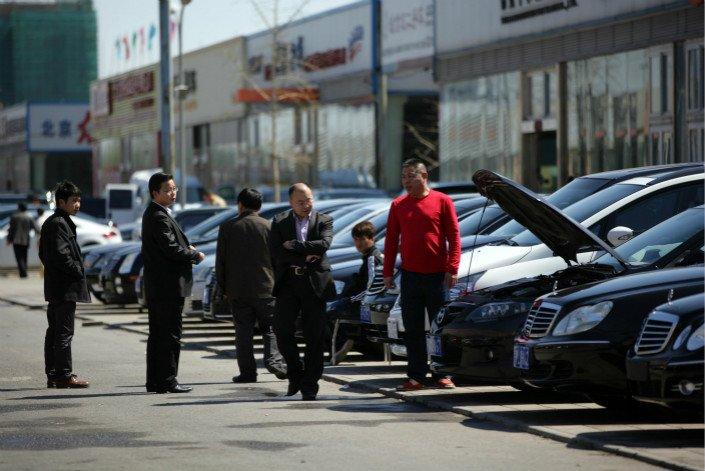 Thị trường ô tô Trung Quốc sụt giảm