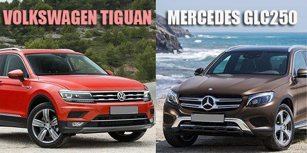 Chọn SUV hạng sang giá 2 tỷ, Volkswagen Tiguan Allspace hay Mercedes GLC250 4Matic tốt hơn?.