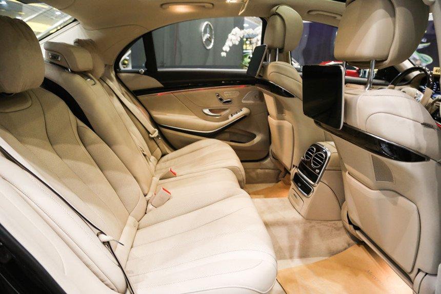 So sánh xe BMW 740Li và Mercedes S450 Luxury về ghế ngồi 3