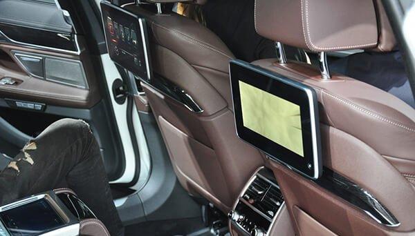 So sánh xe BMW 740Li và Mercedes S450 Luxury về ghế ngồi 6