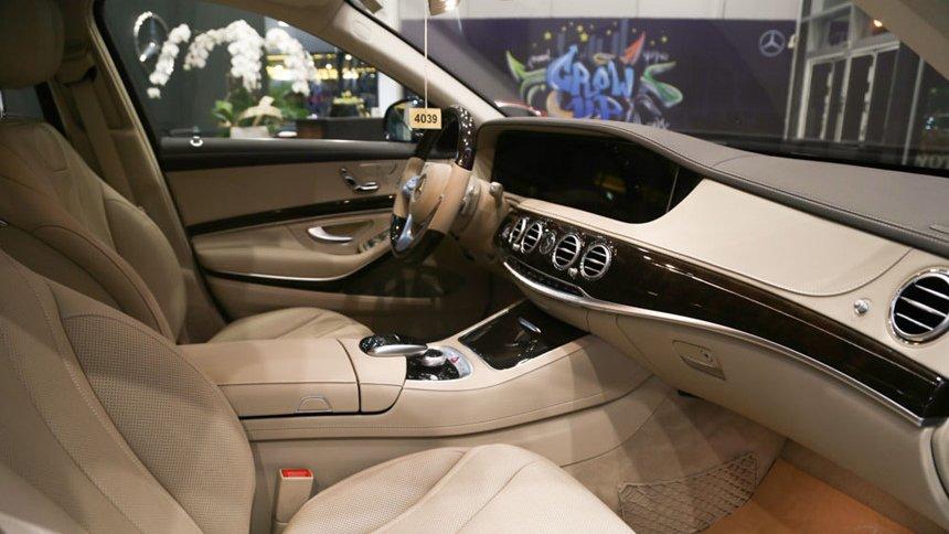 So sánh xe BMW 740Li và Mercedes S450 Luxury về nội thất 3