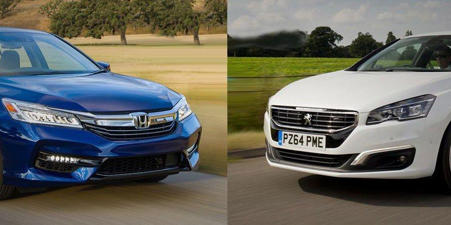 So sánh xe Honda Accord 2019 và Peugeot 508 2019: Xe Nhật có tốt hơn xe Pháp?.