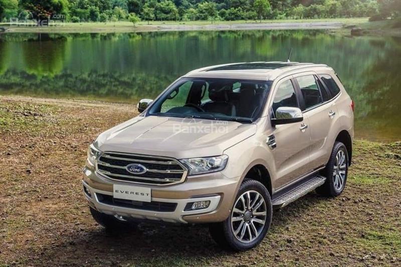 Chỉ với 250 triệu đã có thể nhận xe Ford Everest hoàn toàn mới 2018-5