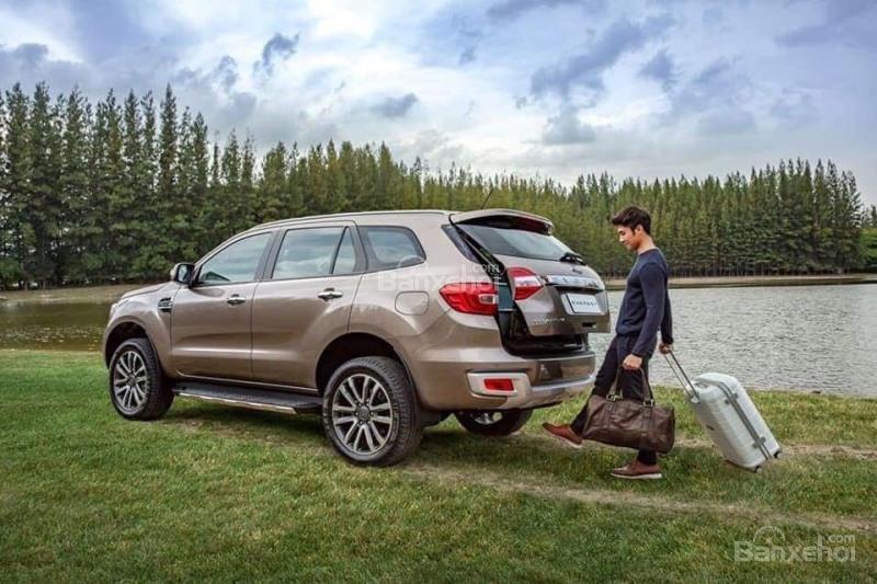 Chỉ với 250 triệu đã có thể nhận xe Ford Everest hoàn toàn mới 2018-0