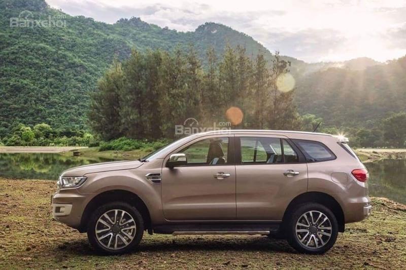 Chỉ với 250 triệu đã có thể nhận xe Ford Everest hoàn toàn mới 2018-4