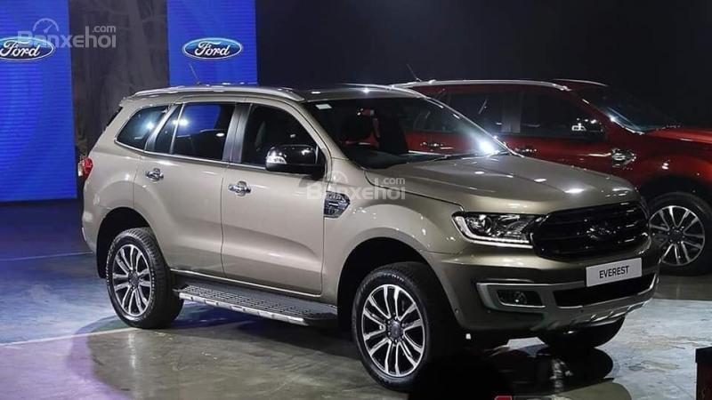 Chỉ với 250 triệu đã có thể nhận xe Ford Everest hoàn toàn mới 2018-6