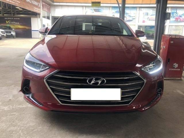 Cần bán xe Hyundai Elantra 1.6MT năm sản xuất 2017, màu đỏ số sàn, giá chỉ 538 triệu (1)