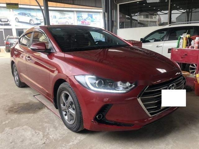 Cần bán xe Hyundai Elantra 1.6MT năm sản xuất 2017, màu đỏ số sàn, giá chỉ 538 triệu (2)