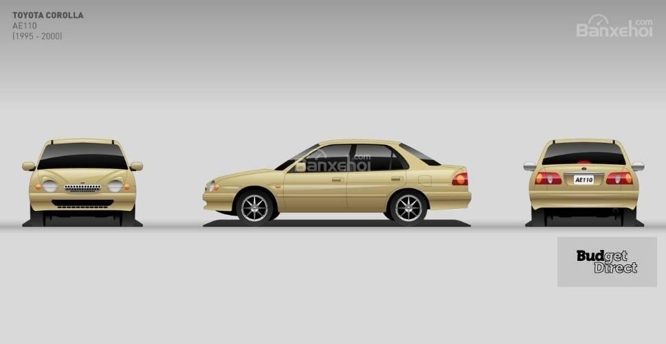 11 thế hệ của Toyota Corolla