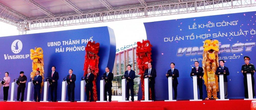 Những chính sách ưu đãi cho thương hiệu sản xuất ô tô Việt - VinFast 1...