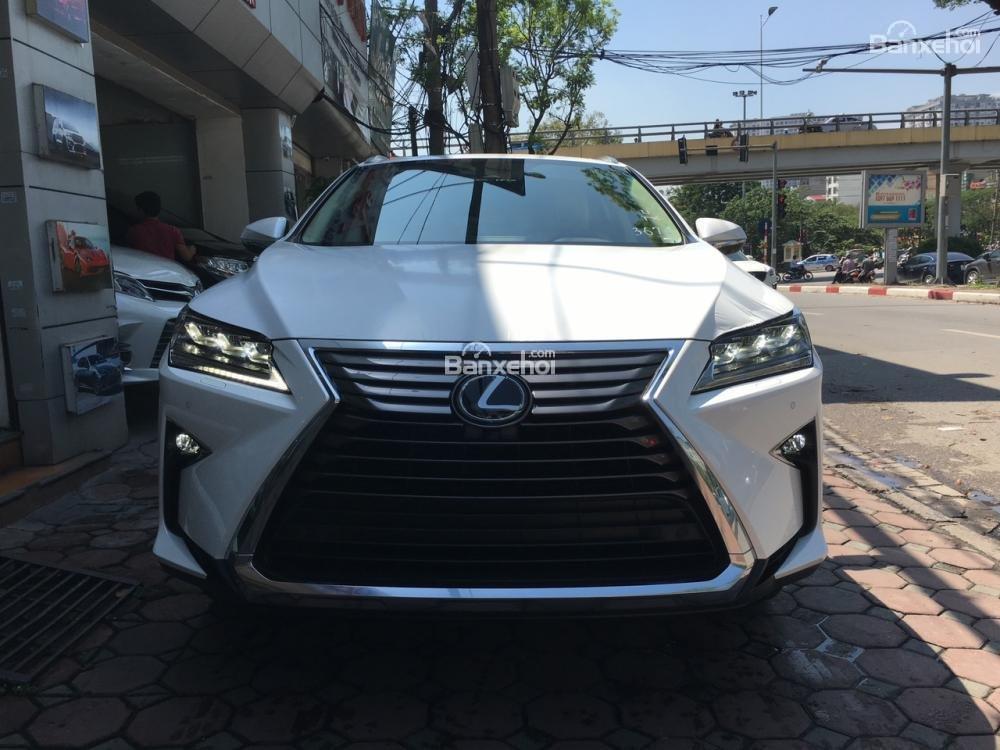 Bán Lexus RX 350L sản xuất năm 2018, bản 07 chỗ màu trắng, nhập khẩu Mỹ giá tốt, liên hệ em Hương: 0945392468-1