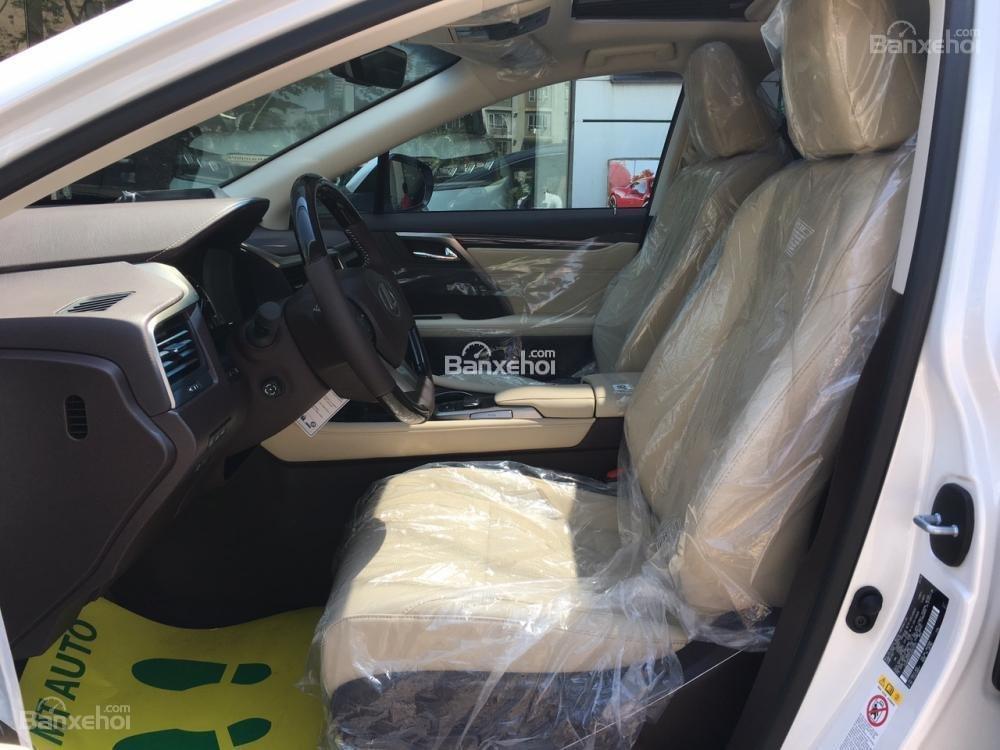 Bán Lexus RX 350L sản xuất năm 2018, bản 07 chỗ màu trắng, nhập khẩu Mỹ giá tốt, liên hệ em Hương: 0945392468-7