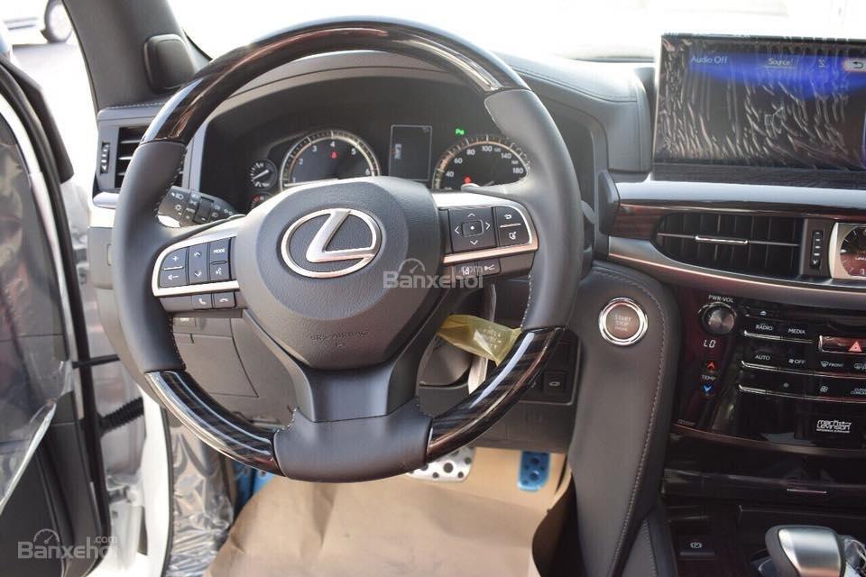 MT AUTO bán xe Lexus LX570S Super Sport đời 2019, màu trắng, xe nhập khẩu Trung Đông giá tốt LH: E Hương: 0945392468-9