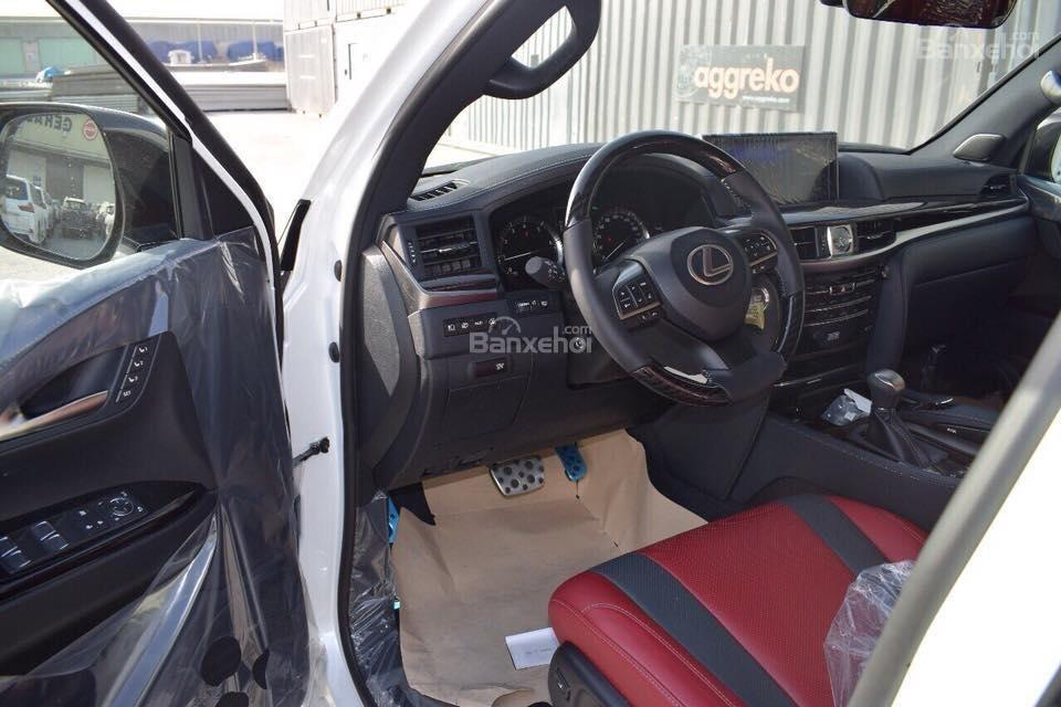 MT AUTO bán xe Lexus LX570S Super Sport đời 2019, màu trắng, xe nhập khẩu Trung Đông giá tốt LH: E Hương: 0945392468-17
