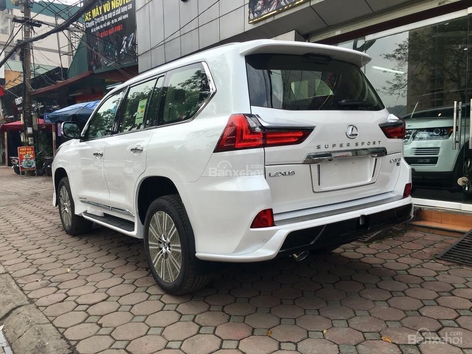 MT AUTO bán xe Lexus LX570S Super Sport đời 2019, màu trắng, xe nhập khẩu Trung Đông giá tốt LH: E Hương: 0945392468-19