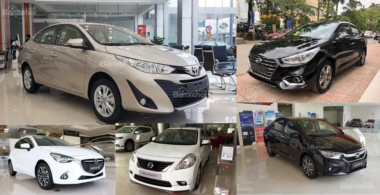 Ô tô 500 triệu đồng: Chọn sedan hạng B nào tốt nhất năm 2019?//