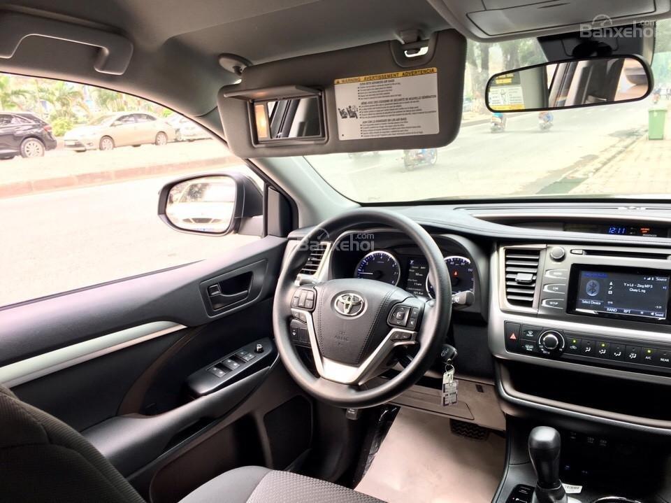 Bán xe Toyota Highlander LE năm 2018, màu đen, màu đỏ nhập khẩu Mỹ, LH em Hương: 0945392468 (19)