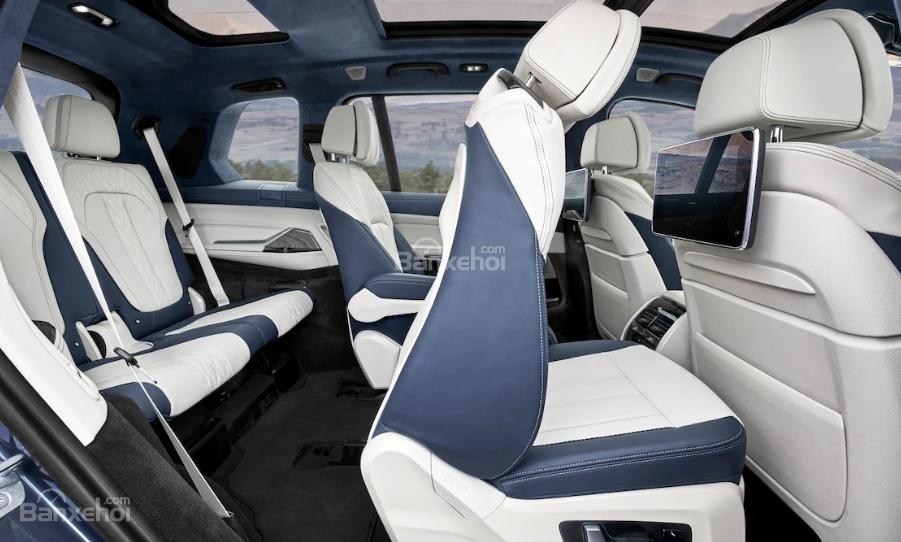 Đánh giá xe BMW X7 2019 về hệ thống ghế ngồi.