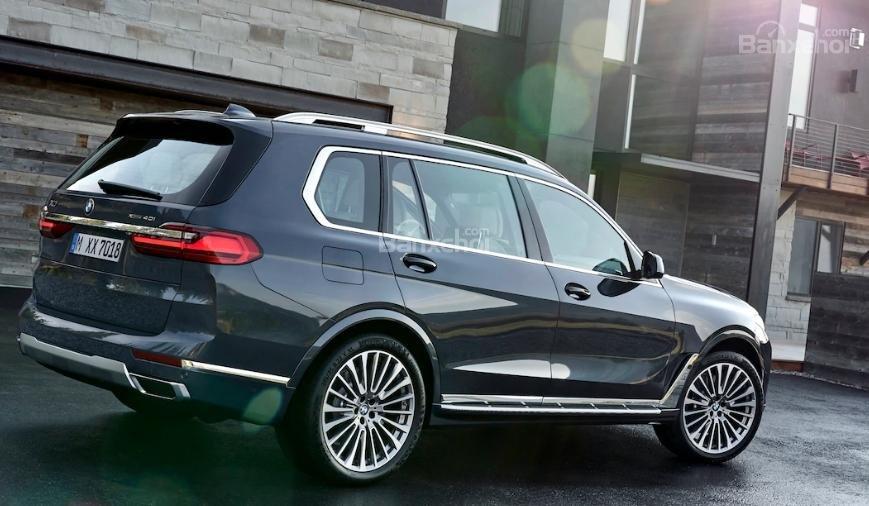 Đánh giá xe BMW X7 2019 về trang bị an toàn.