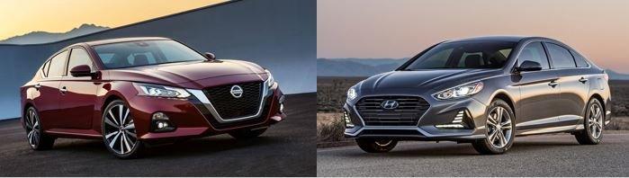 So sánh Nissan Teana 2019 và Hyundai Sonata 2019 về thiết kế...