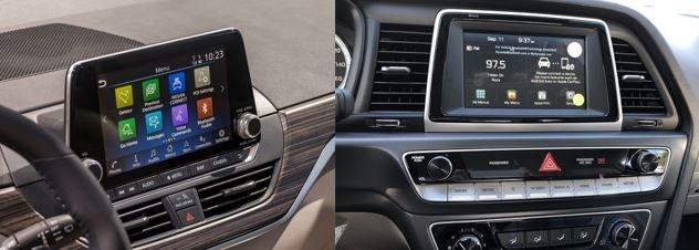 So sánh Nissan Teana 2019 và Hyundai Sonata 2019 về tiện nghi ...