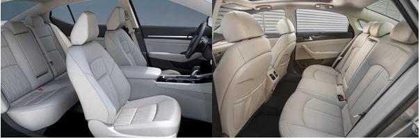 So sánh Nissan Teana 2019 và Hyundai Sonata 2019 về nội thất 2...