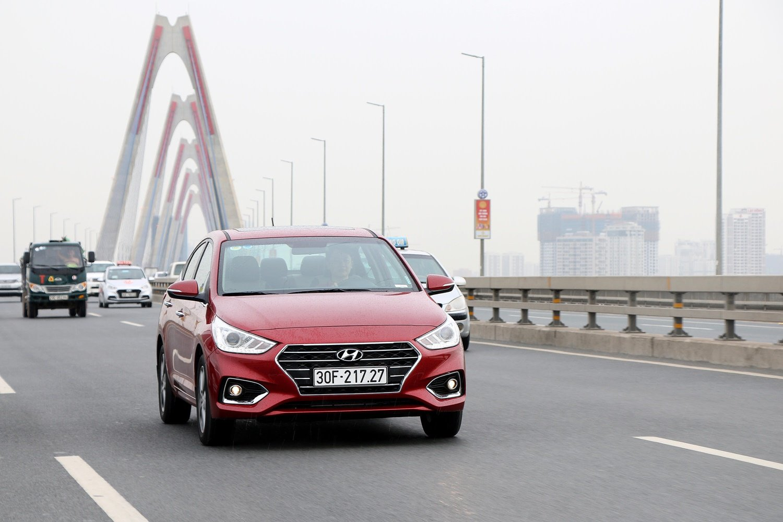 Hyundai Accent có doanh số tháng 10 đứng đầu