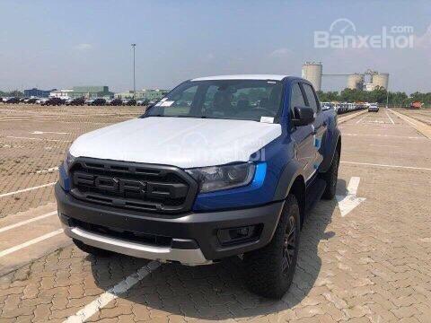 Bán Ford Ranger Raptor 2018, màu xanh lam, xe nhập. Hotline giao xe toàn quốc 0979 572 297-1