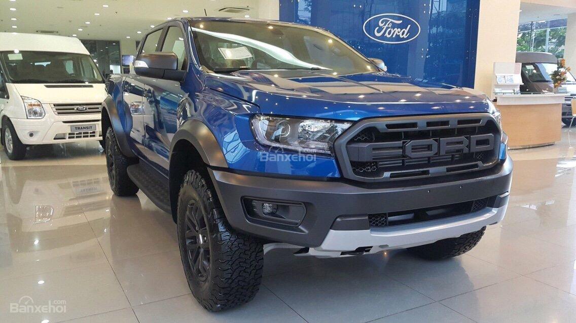 Bán Ford Ranger Raptor 2018, màu xanh lam, xe nhập. Hotline giao xe toàn quốc 0979 572 297-0