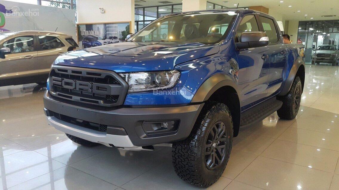 Bán Ford Ranger Raptor 2018, màu xanh lam, xe nhập. Hotline giao xe toàn quốc 0979 572 297-8