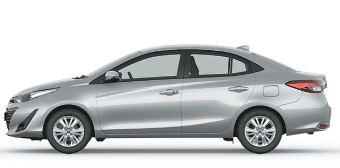 So sánh xe Toyota Vios 2019 và Mazda 2 2019 về thân xe.