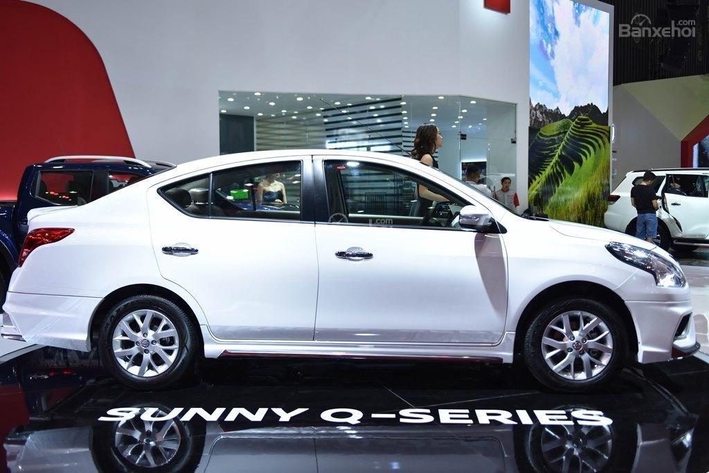 Đánh giá xe Nissan Sunny Q-Series 2019: Thân xe.