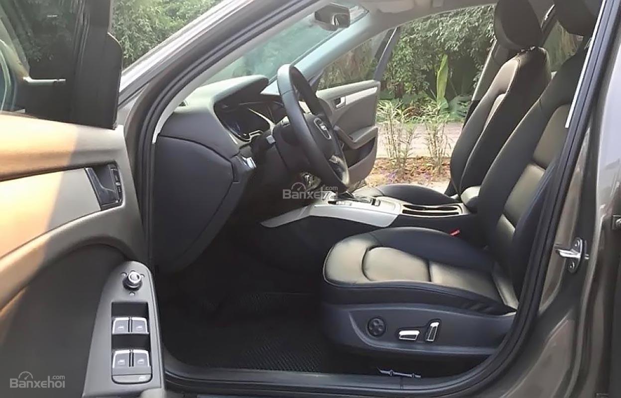 Cần bán lại xe Audi A4 1.8 sản xuất năm 2013, màu xám, nhập khẩu nguyên chiếc-1