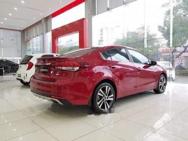 Cần bán xe Kia Cerato năm 2018, màu đỏ, giá 528tr (3)