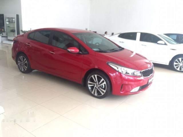Cần bán xe Kia Cerato năm 2018, màu đỏ, giá 528tr (2)
