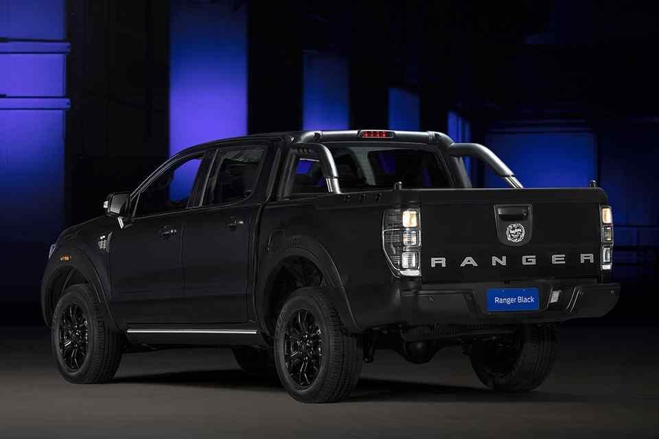 Ford Ranger Black Edition Concept tuyệt đẹp xuất hiện - Ảnh 1.
