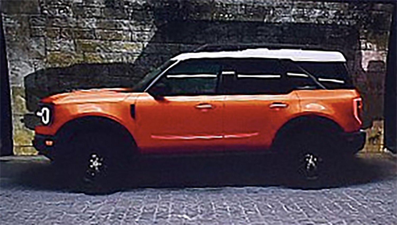 Lộ ảnh SUV cỡ nhỏ hoàn toàn mới, Ford Bronco sắp ra mắt a3