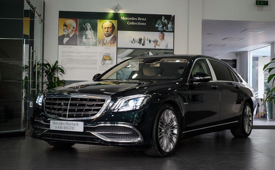 Giá xe Mercedes-Benz Maybach S450 a1