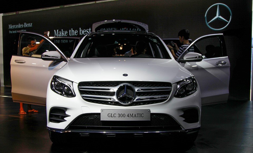 Giá xe Mercedes-Benz GLC300 a1