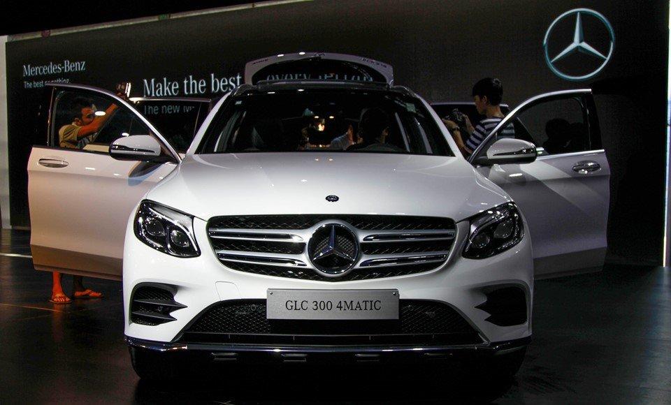 Mercedes-Benz GLC300 tại Việt Nam.
